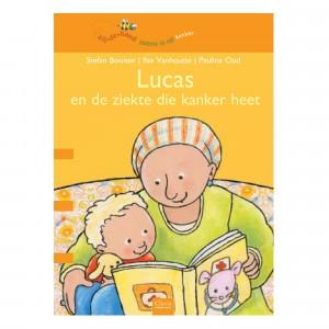Clavis 'Bijdehand' Informatief Leesboek Lucas en de ziekte die kanker heet