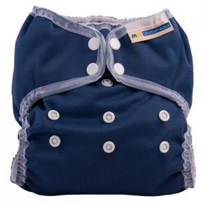 Mother ease One Size Luier Wizard Uno Organisch Katoen (3-15 kg) Navy