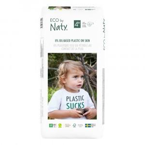 Naty Eco Wegwerpluiers Maat 4+ (42 stuks)