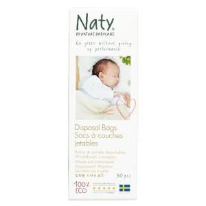 Naty Eco Wegwerpzakken voor luiers (50 stuks)