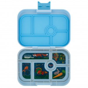 Yumbox Original Luna Blue met Tray Unicorn