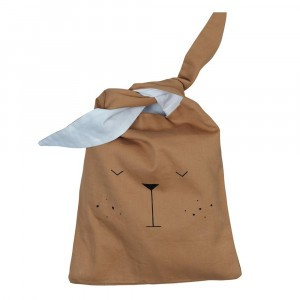 Fabelab Lunch Bag Bear Ochre