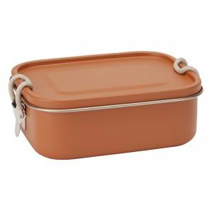 Haps Nordic Lunchbox (met verwijderbare verdeler) Terracotta