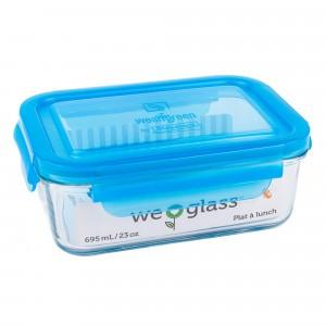 Wean Green Lunch Tub Blauw