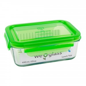 Wean Green Lunch Tub Groen
