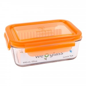 Wean Green Lunch Tub Oranje