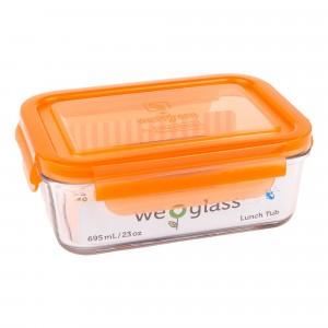 Wean Green Lunch Tub Oranje