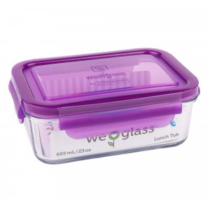 Wean Green Lunch Tub Paars