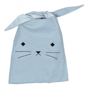 Fabelab Lunch Bag Cat Foggy Blue