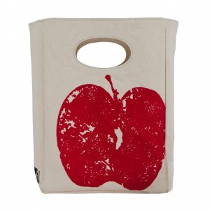 Fluf Lunch Bag Red Apple