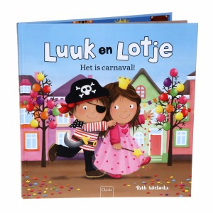 Clavis Leesboekje Luuk en Lotje, Het is carnaval!