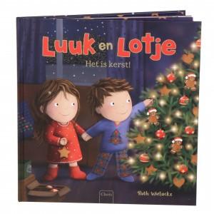 Clavis Leesboekje Luuk en Lotje, Het is kerst!