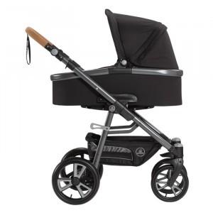 Naturkind Kinderwagen + Reiswieg Lux Panther