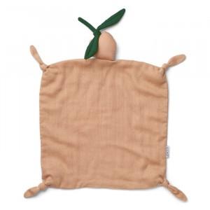 Liewood Agnete Knuffeldoekje Peach/Peach