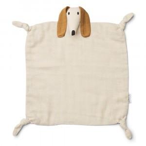 Liewood Agnete Knuffeldoekje Dog Sandy