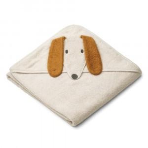 Liewood Albert Badcape Baby Dog Sandy