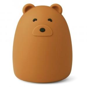 Liewood Winston Nachtlampje Mr Bear Golden Caramel