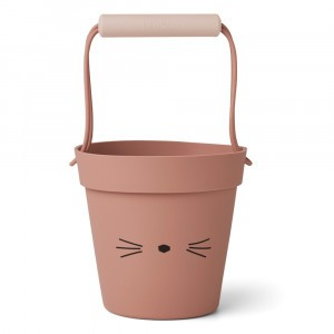 Liewood Silicone Emmer Cat Dark Rose Mix