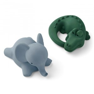 Liewood Badspeeltjes Vikky (2-pack) Safari Green Mix