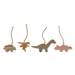 Liewood Gio Speelgym Accessoires Dino Golden Caramel/Multi Mix