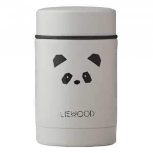 Liewood Thermosbox (250 ml) Panda Light Grey