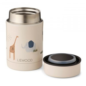 Liewood Thermosbox (250 ml) Safari Sandy Mix