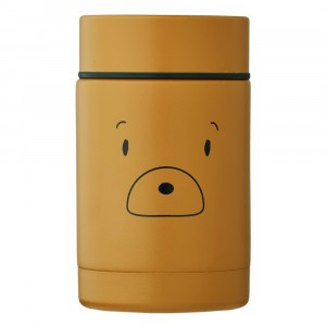 Liewood Nadja Thermosbox (250 ml) Mr Bear Golden Caramel