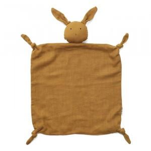 Liewood Knuffeldoekje Rabbit Olive Green