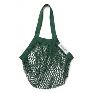 Liewood Mesi Mesh Tote Bag Garden Green