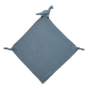 Liewood Knuffeldoekje Robbie Dino Blue Wave