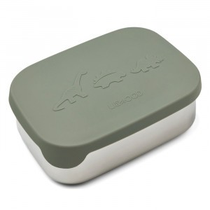 Liewood Arthur Lunchbox Dino Faune Green