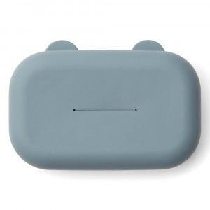 Liewood Emi Silicone Doekjes Cover Whale Blue