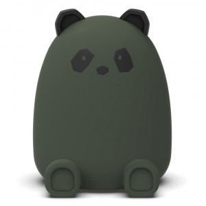 Liewood Spaarpot Panda Hunter Green