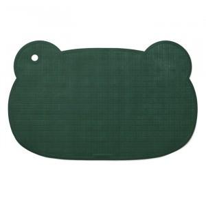 Liewood Badmat Natuurrubber Mr Bear Garden Green