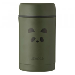 Liewood Thermosbox (500 ml) Panda Hunter Green