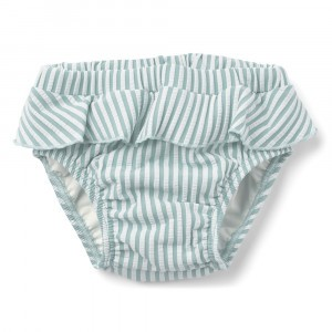 Liewood Elise Baby Zwembroekje (80/86) Stripe Sea Blue/White