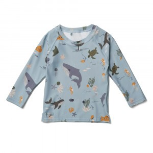 Liewood Noah UV T-shirt lange mouwen Sea Creature Mix