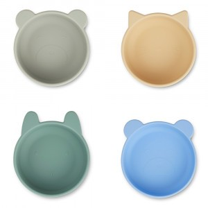 Liewood Silicone Kommetjes Peppermint Multi Mix (4 pack)