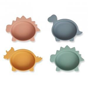 Liewood Silicone Kommetjes Dino Multi Mix (4 pack)