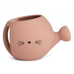 Liewood Silicone Gieter Cat Dark Rose