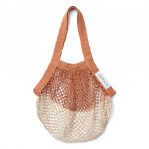 Liewood Aldo Mesh Tote Bag Tuscany Rose/Sandy Mix
