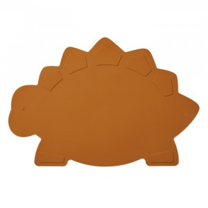 Liewood Silicone Placemat Dino Mosterd
