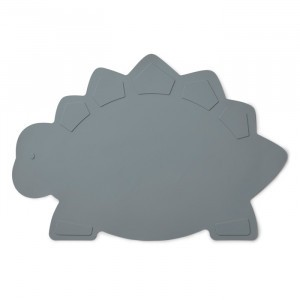 Liewood Silicone Placemat Dino Blue Wave