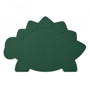 Liewood Silicone Placemat Dino Garden Green
