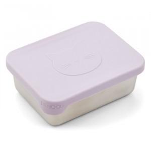Liewood Ako Snack Box Kat Light Lavender