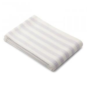 Liewood Beach Handdoek Stripe Light Lavender/Creme
