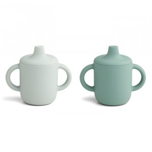 Liewood Neil Silicone Drinkbeker (2-pack) Mint Mix