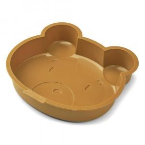 Liewood Amory Silicone Bakvorm Mr Bear Golden Caramel