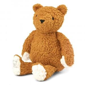 Liewood Knuffel Bob the Bear Golden Caramel