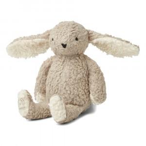 Liewood Knuffel Konijn Riley the Rabbit Pale Grey